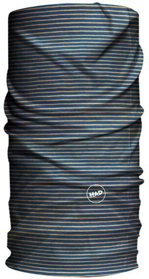 HAD Solid Stripes sjaal Kinderen blauw